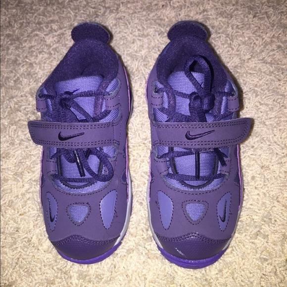 Dark Purple Nike Toddler Shoes Size